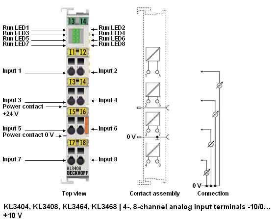 Рис. Схема подключения модуля